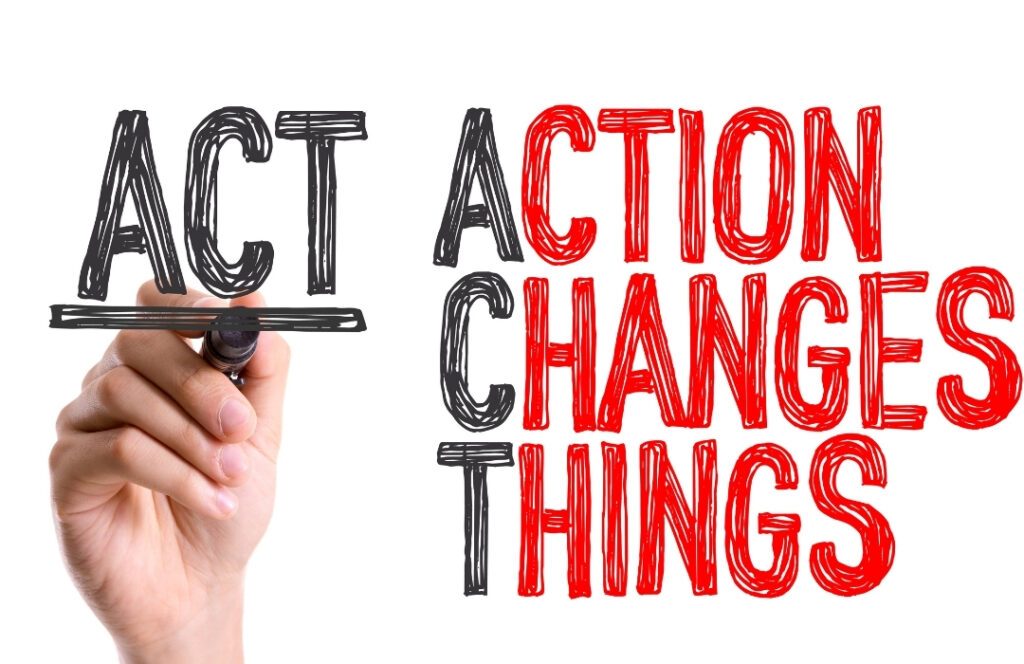Text ACT Action Changes Things
